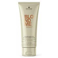 Schwarzkopf Professional BlondMe Keratin Restore Blonde Conditioner Кондиционер для волос кератиновое восстановление 200мл