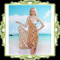 Пляжное платье-трансформер Славянский узор