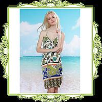 Пляжное платье-трансформер Розы