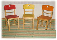 Детский стул 34 см - Стул для ребенка ТМ КИНД