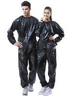 Костюм сауна для похудения Sport Suit 0,14 мм черный