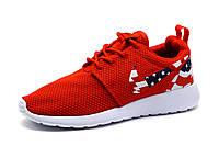 Кроссовки унисекс Nike Rosherun, красный, р.36 37 38 39, фото 1