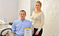 Диплом сервиса Док.юа как лучшему ортодонту города Киева