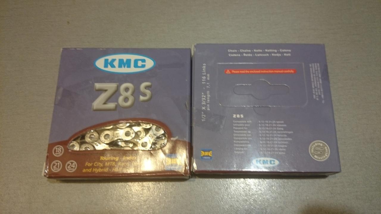 Цепь KMC Z8S 6-/7-/8-fach