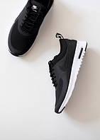 Женские кроссовки Nike Air Max Thea Black черно-белые