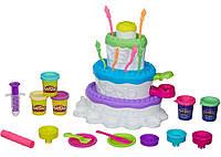 Игровой Набор для творчества Праздничный Торт PlayDoh Hasbro A7401