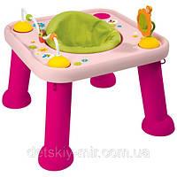 Развивающий детский игровой столик трансформер Cotoons Smoby 211310R