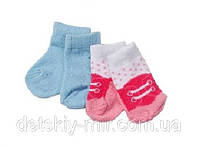 Набор Носочков 2 пары для куклы Baby Born Zapf Creation 819517NB