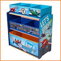 """Органайзер - ящик для игрушек """"Самолетики Disney"""" Delta Children"""