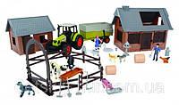 Игровой набор Ферма с Животными большая Dickie 3608002