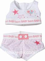 Костюм Нижнего Белья для куклы Ubranko Baby Born Zapf Creation 818077B