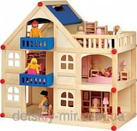 Кукольный Домик 3 этажа Д250