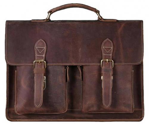 Мужской портфель из натуральной кожи  BEXHILL  Bx1061В