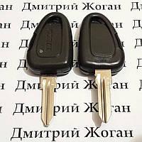 Корпус автоключа для Fiat / IVECO (Фиат / Ивеко) 1 - кнопка с лезвием GT15