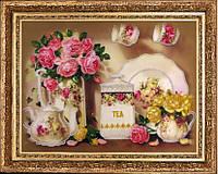 Набор для вышивания бисером Чайный сервиз БФ 269