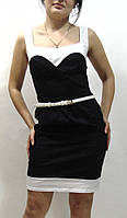 Женское платье с ремешком