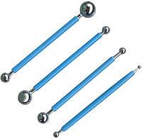 Стеки для моделирования Empire 8110 набор 4 шт шарик для формирования из мастики