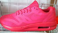 Кроссовки женские Nike Air Max 90 неоновые розовые NI0067