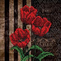 Набор для вышивания бисером Цветы 5. КИТ 50116