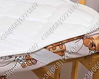Детский хлопковый наматрасник в кроватку 60х120