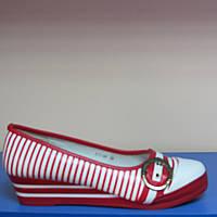 Подростковые туфли для девочки B&G 38р(24см стелька)