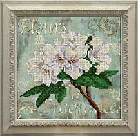 Набор для вышивания бисером Цветы КИТ 11115