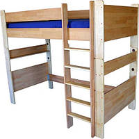"Кровать чердак из дерева ""ТУРМ"" ТМ КИНД (90х190 см)"