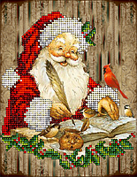 Набор для вышивания бисером Рождественские истории 12. КИТ 20915
