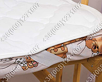 Детский наматрасник Зима-Лето в кроватку 60х120