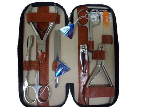 Современный маникюрный набор из 8 предметов KDS 4-7106 Brown