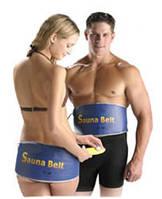 Пояс для похудения с эффектом сауны Sauna Belt СИНИЙ
