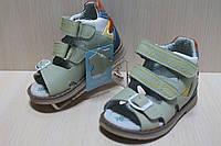 Кожаные ортопедические босоножки для мальчика тм Tom.m, детская летняя обувь р.23