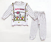 Пижама Hello Kitty для девочки. 1 год