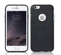 REMAX Ruai Creative Case Leather for iPhone 6/6s Black