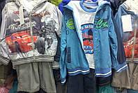 Детские весенние костюмы-тройка для мальчиков 2-6 лет S445
