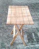 Стол складной квадратный (деревянный),70 см* 70 см* 75 см