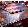 Mary Kay клатч-конверт серебристый с перламутовым отливом