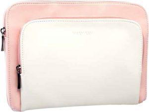 Клатч розовый с белым Мери Кей