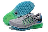 Мужские кроссовки Nike Air Max 2015 Grey/Green/Blue