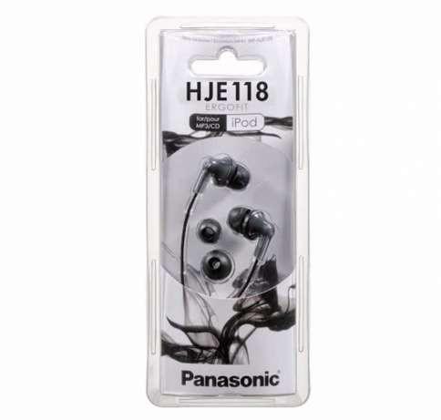 Вакуумные наушники Panasonic RP-HJE118 Black