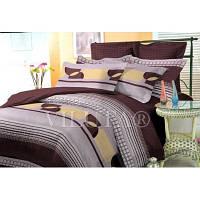 Комплект двухспальный постельного белья Поплин Вилюат Viluta 1397
