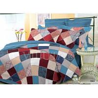 Комплект двухспальный постельного белья Поплин Вилюат Viluta 1423