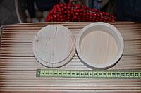 Шкатулка деревянная под роспись круглая маленькая
