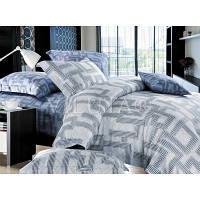 Комплект двухспальный постельного белья Сатин Вилюта 607