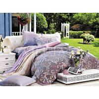 Комплект двухспальный постельного белья Сатин Вилюта 610
