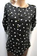Блузка рубашка женскаяТурция сердечки