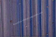 Шторы-нити Голубые с камнями