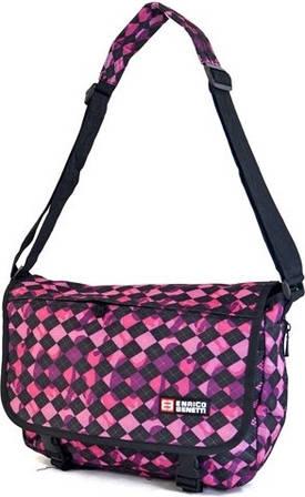 Удобная молодежная сумка ENRICO BENETTI 43087316 черно/розовая