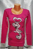 Модная туника  для девочки  подростка Каpito малиновая