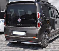 Защита заднего бампера уголки Fiat Doblo nuovo 2015+